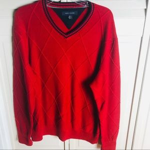 Tommy Hilfiger Red sweater.